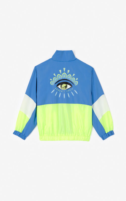 BLUE 'Cali Party' windcheater for unisex KENZO
