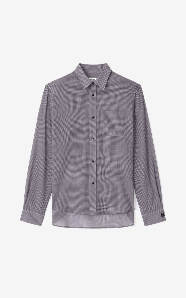WISTERIA Checked casual shirt      for men KENZO