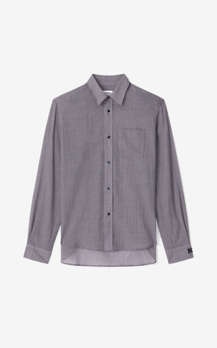 WISTERIA Checked casual shirt      for women KENZO
