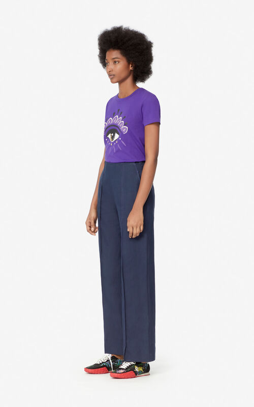 AUBERGINE Eye t-shirt for women KENZO