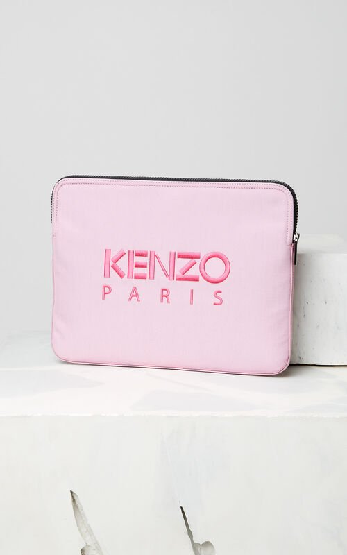 FLAMINGO PINK Tiger Laptop Sleeve for unisex KENZO