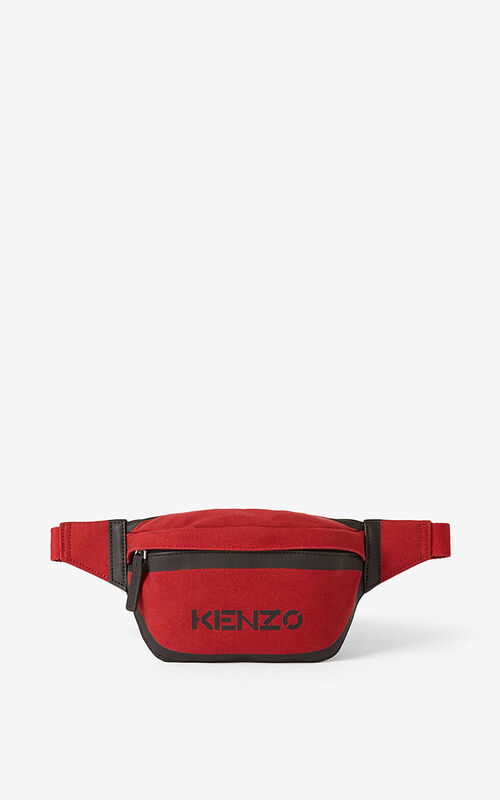 CHERRY Kanvas bumbag for unisex KENZO