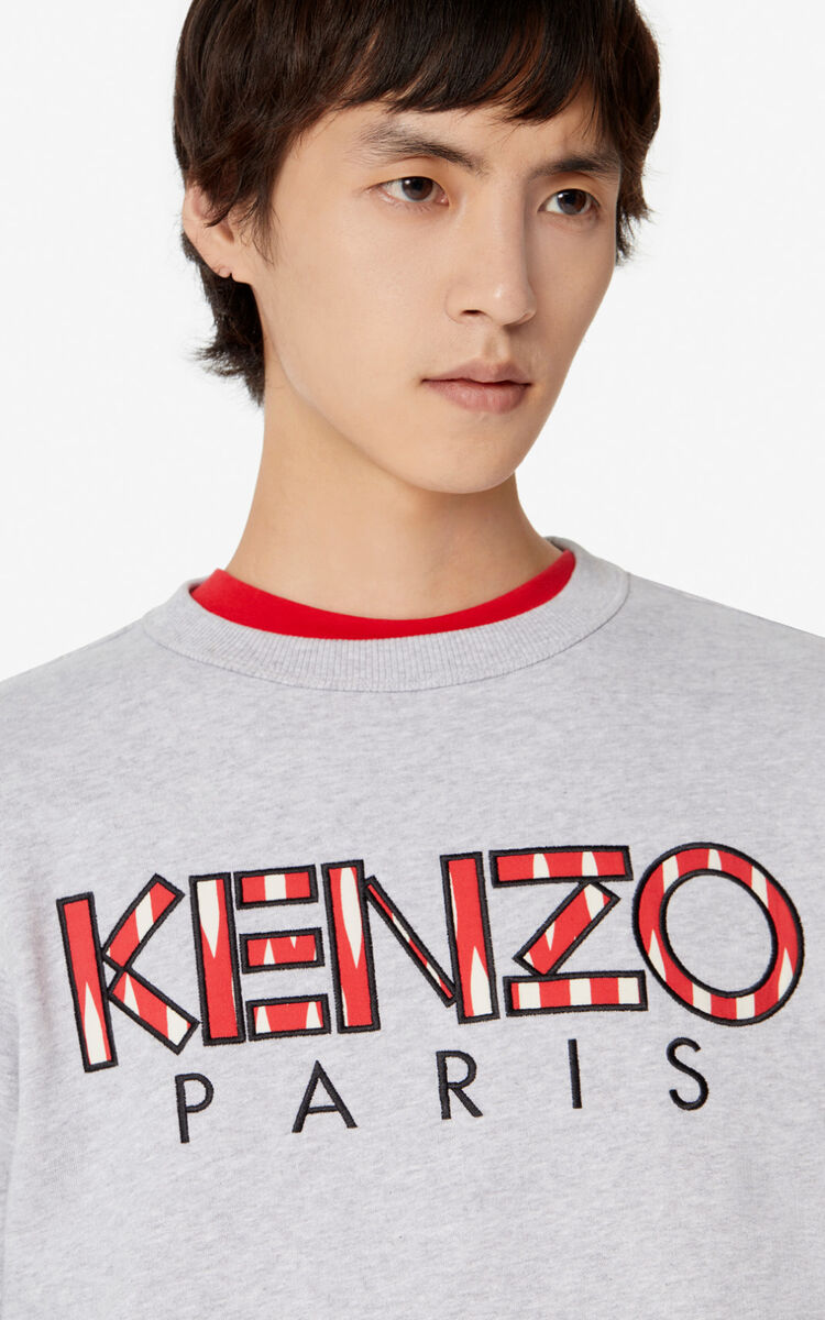 PEARL GREY KENZO Paris sweatshirt  for men