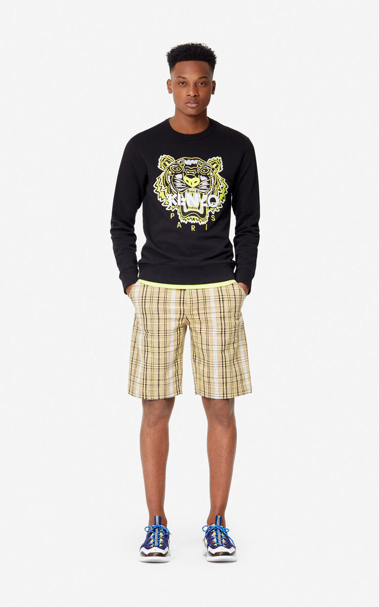 BLACK Tiger sweatshirt 'High Summer Capsule collection' for women KENZO