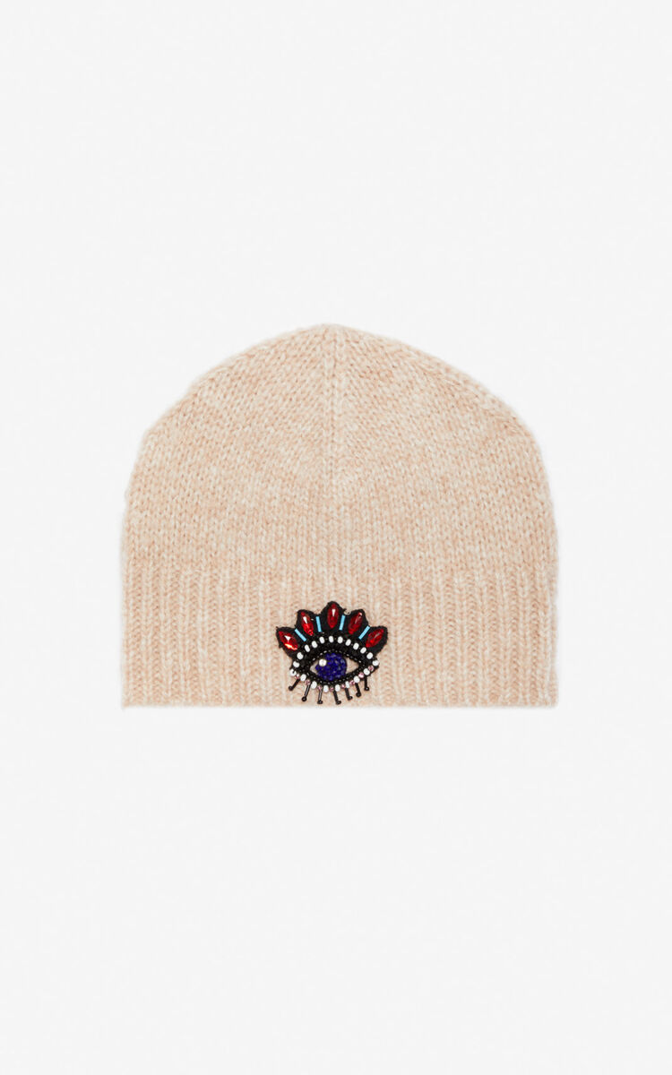 FLAMINGO PINK Eye beanie for unisex KENZO