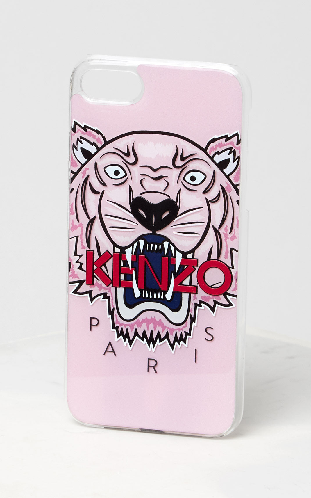 FADED PINK 3D Tiger iPhone 7/8 case for women KENZO