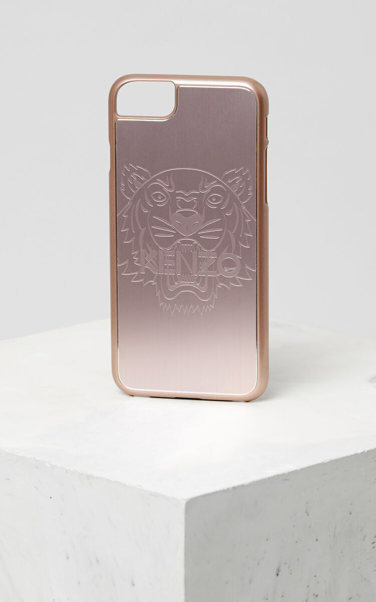 PASTEL PINK iPhone 7+/8+ Tiger Case for unisex KENZO