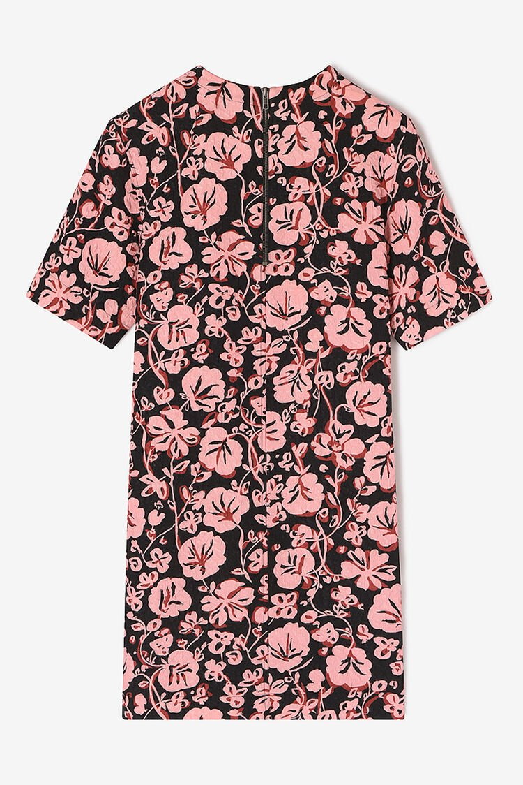 FADED PINK 'Floral Leaf' Dress for women KENZO