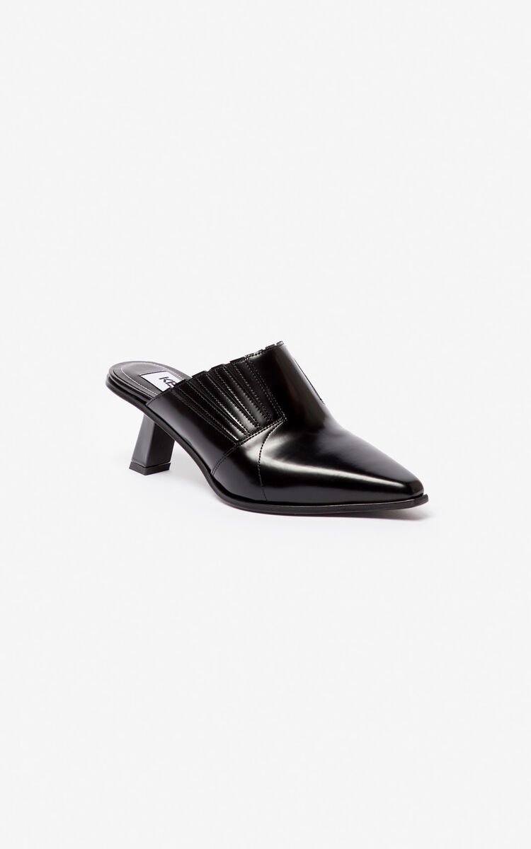 BLACK Rider mules for women KENZO