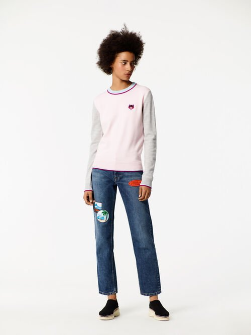 Tiger Sweater, FADED PINK, KENZO