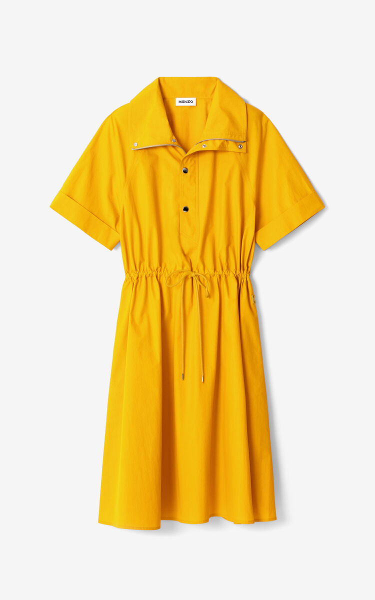 MARIGOLD Fitted midi dress for women KENZO