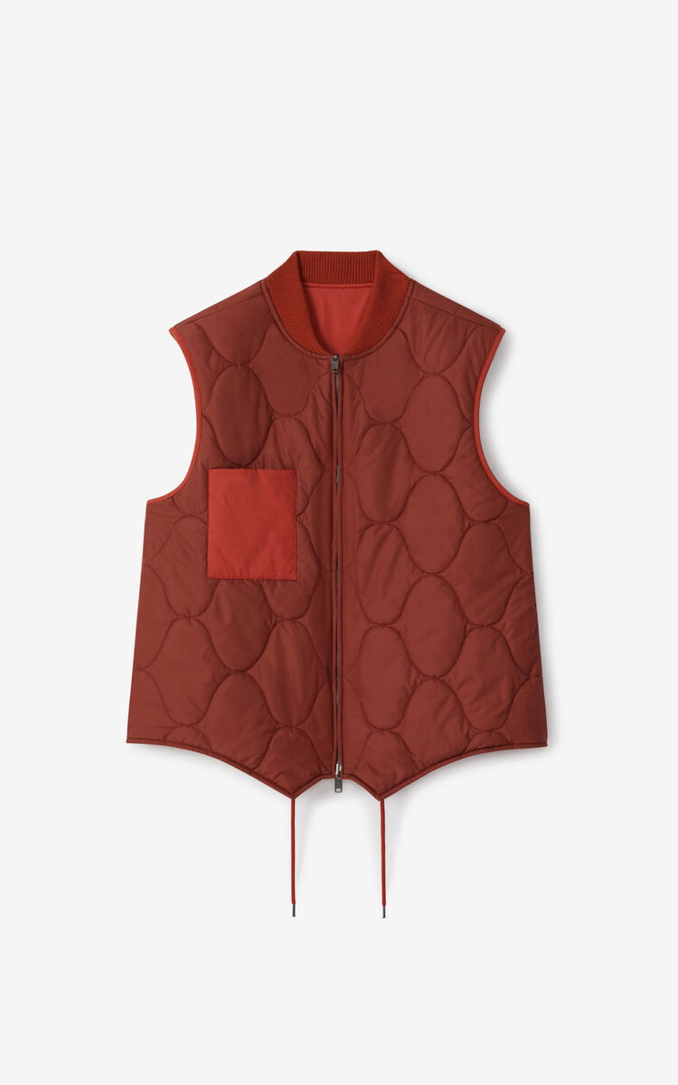 COGNAC Reversible body warmer for women KENZO
