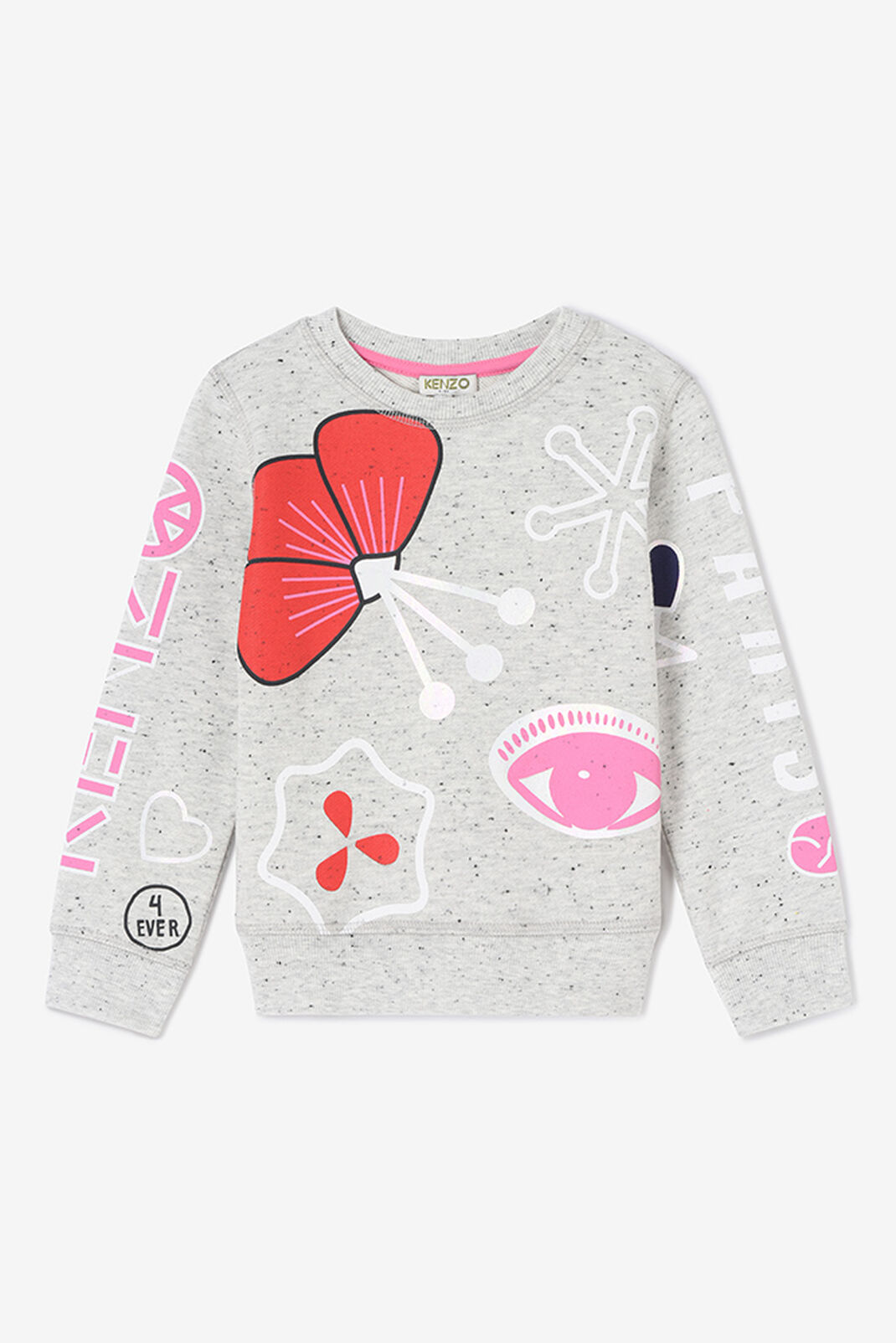 DOVE GREY Tanami Flowers Sweatshirt for women KENZO