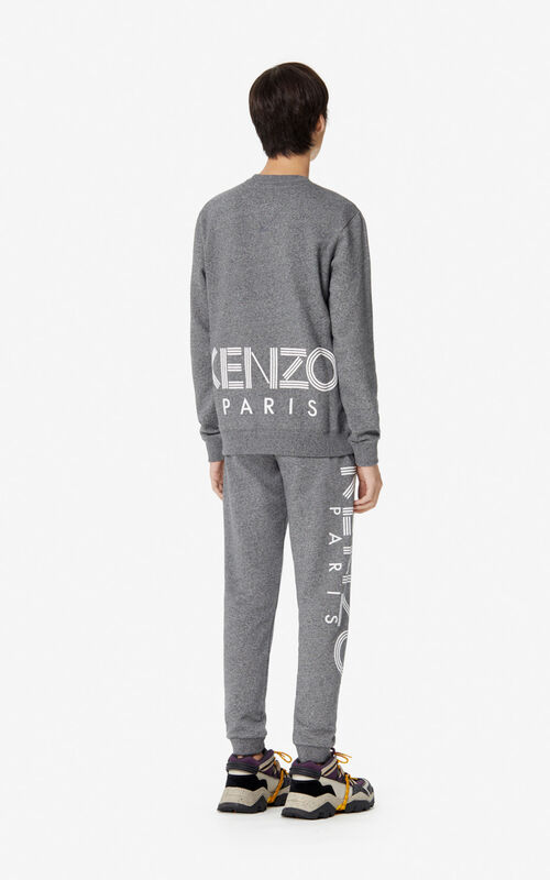 ANTHRACITE KENZO Logo Sweatshirt for men