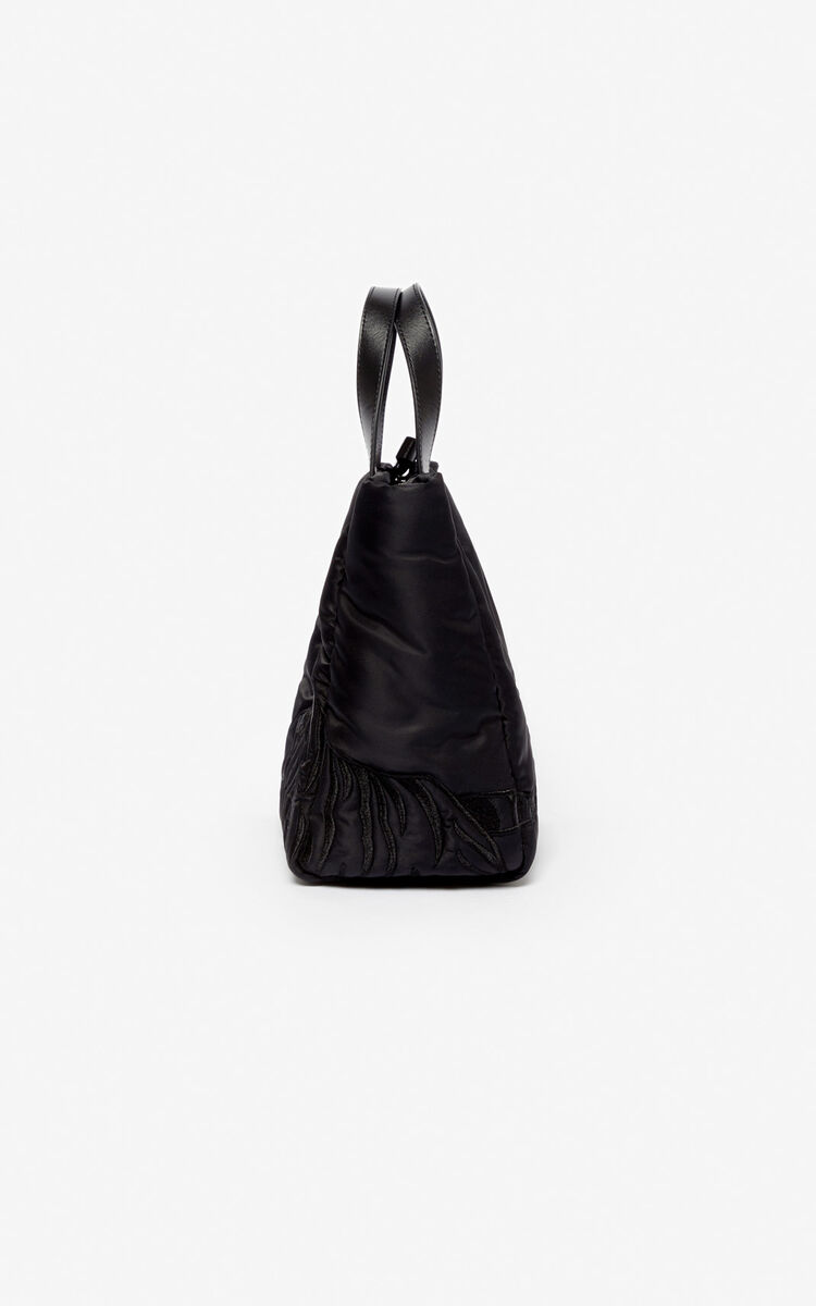 BLACK Tiger small tote bag for unisex KENZO