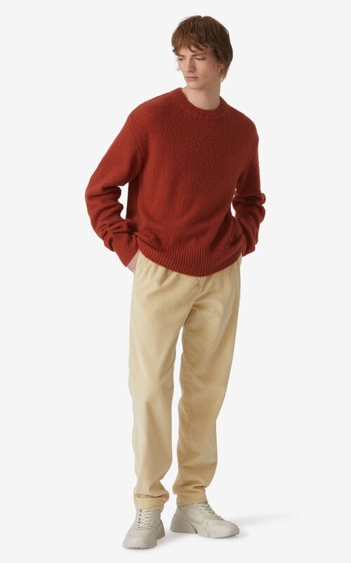 COGNAC Recycled cashmere K jumper for men KENZO