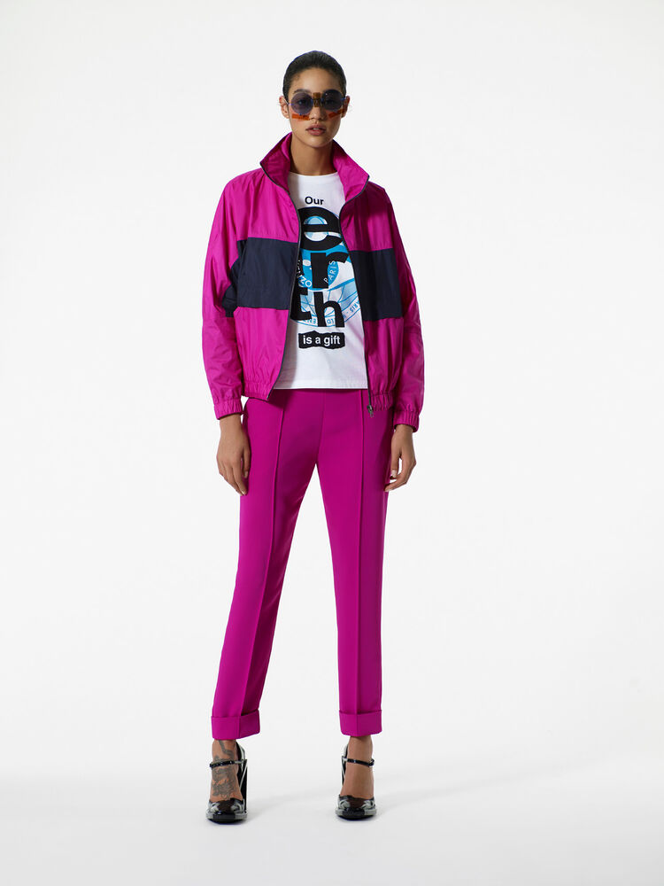 DEEP FUSCHIA KENZO Logo Jacket for women