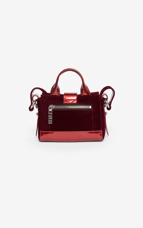 ... PEONY RED 24 Micro Kalifornia handbag 'Holiday Capsule' for unisex KENZO