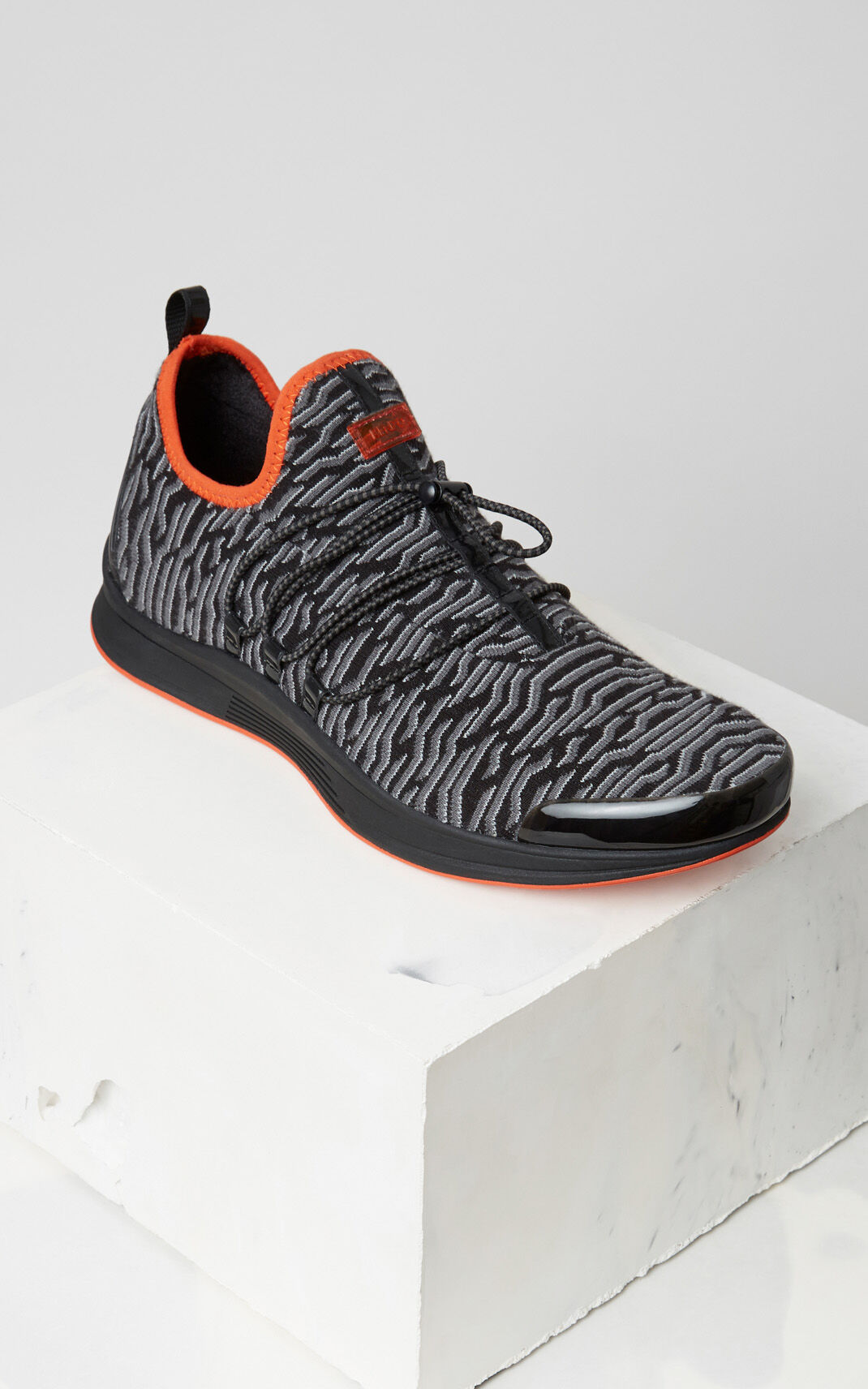 BLACK Ozon x Geo Tiger Sneaker for unisex KENZO