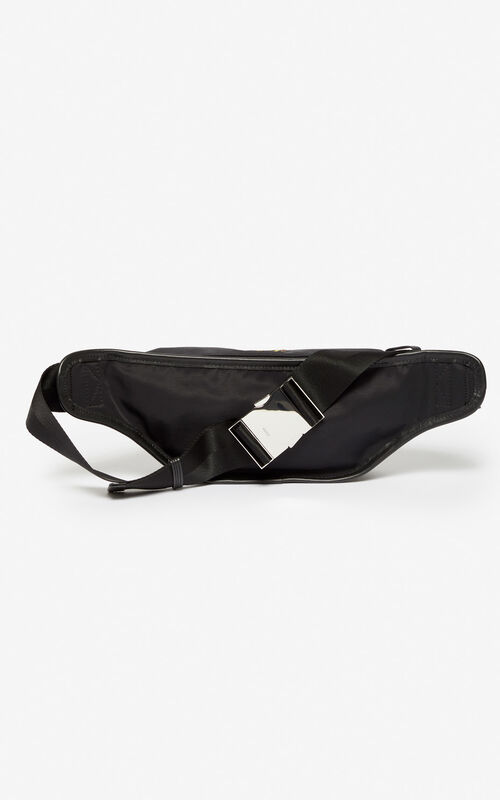 BLACK 'Dragon' bumbag for unisex KENZO
