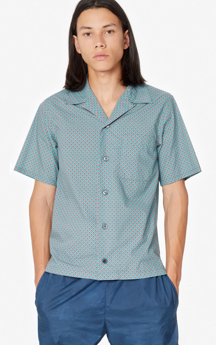 MINT Monogram Tiger' casual shirt for men KENZO