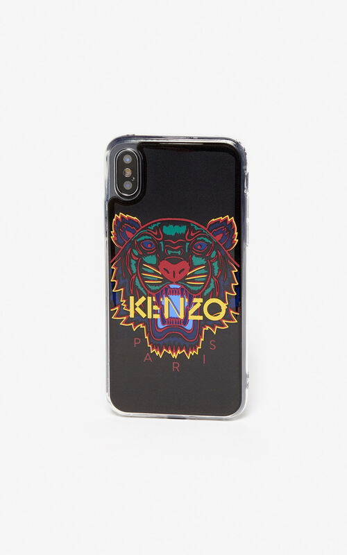 BLACK Tiger iPhone X/XS case for unisex KENZO