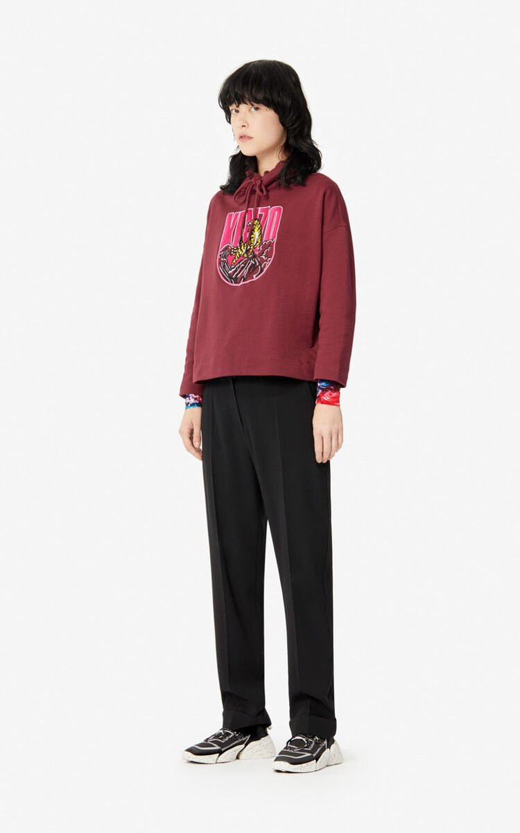 BORDEAUX 'Tiger Mountain' 'Capsule Expedition' sweatshirt for women KENZO