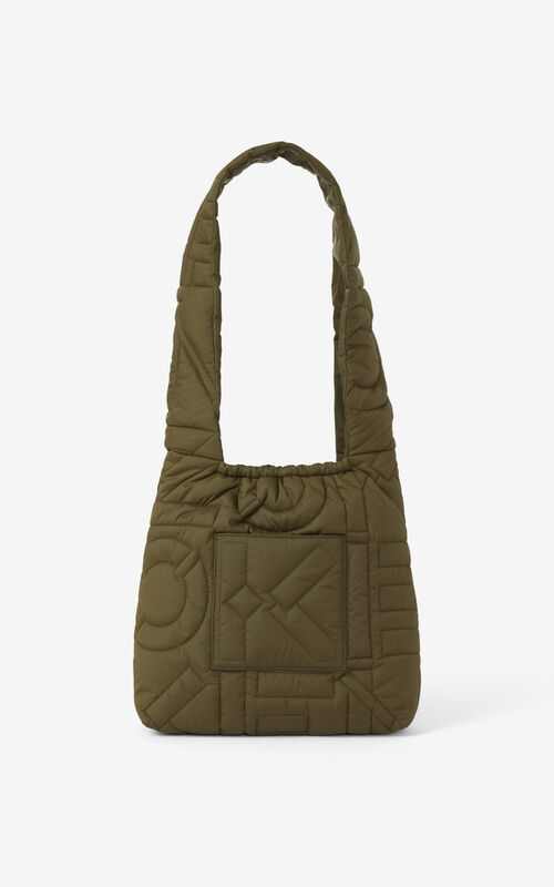 FERN Arctik tied tote bag for unisex KENZO