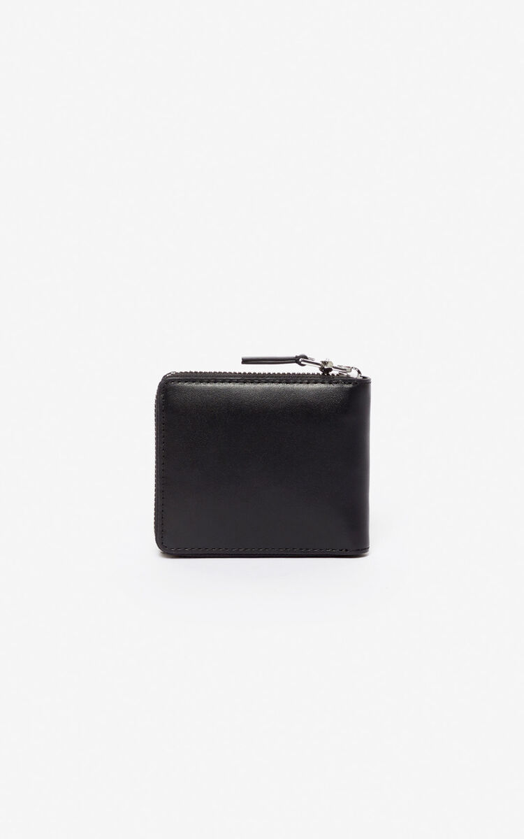 BLACK Kontact Eye wallet for unisex KENZO