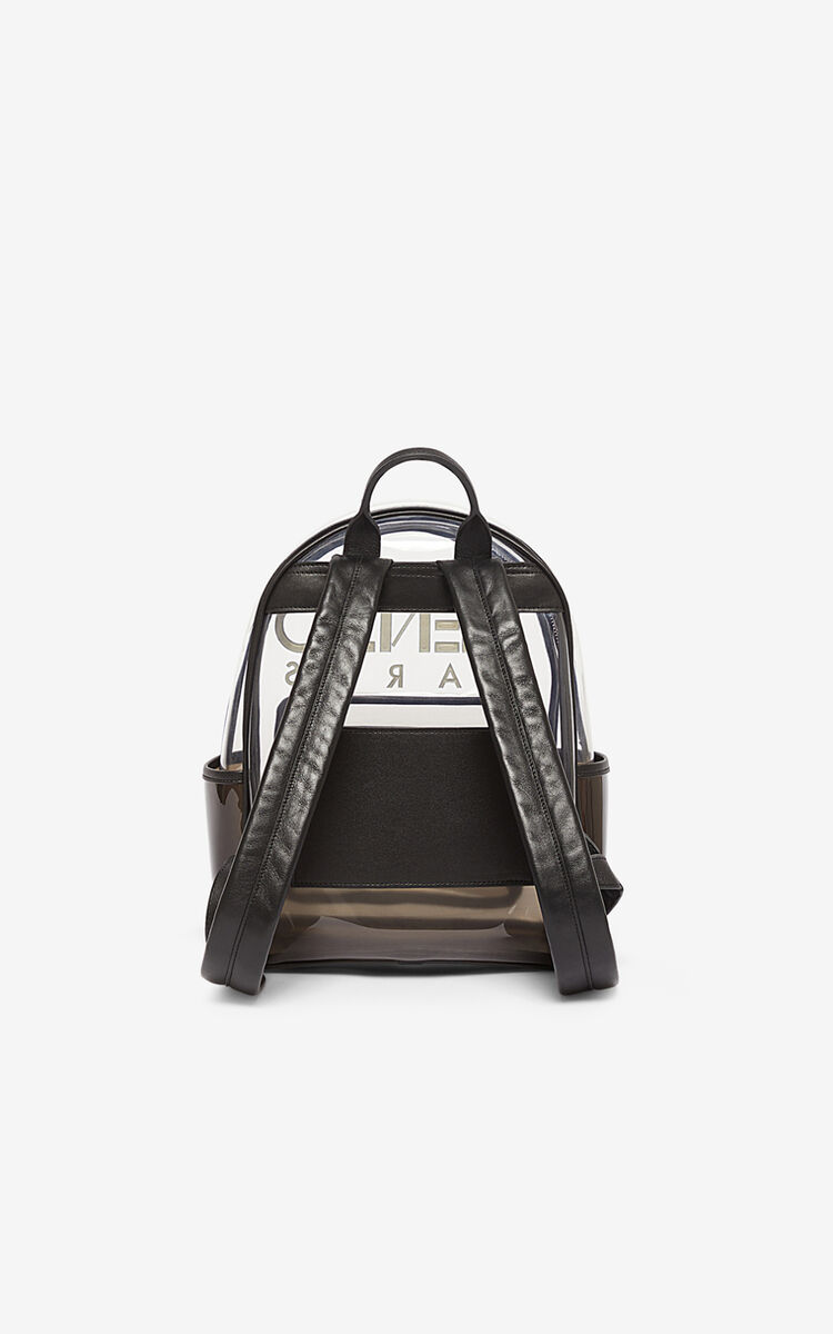 BLACK Kombo backpack for men KENZO