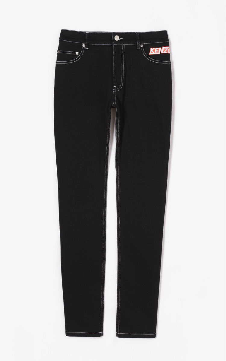 BLACK 'Hyper Kenzo' Skinny Jeans for men