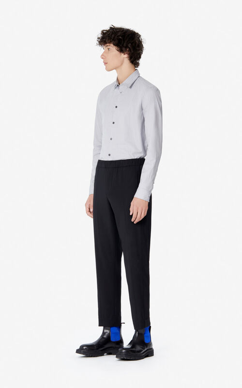 BLACK Trousers for men KENZO