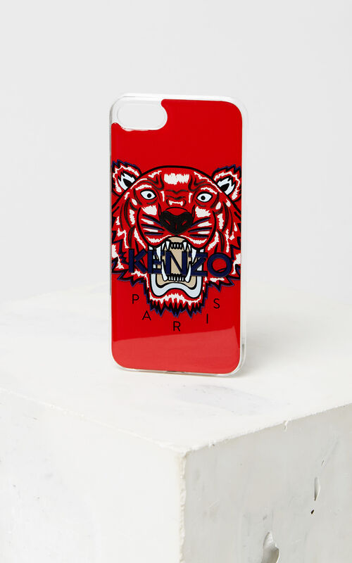 MEDIUM RED Tiger iPhone 8 case for unisex KENZO