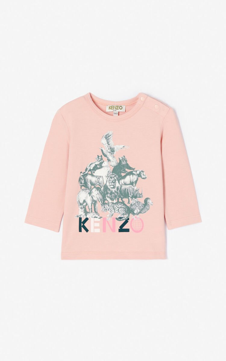 BEGONIA 'Crazy jungle' T-shirt for men KENZO