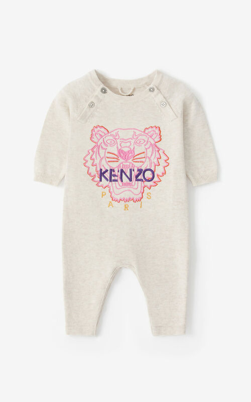 BEIGE Tiger all-in-one for unisex KENZO