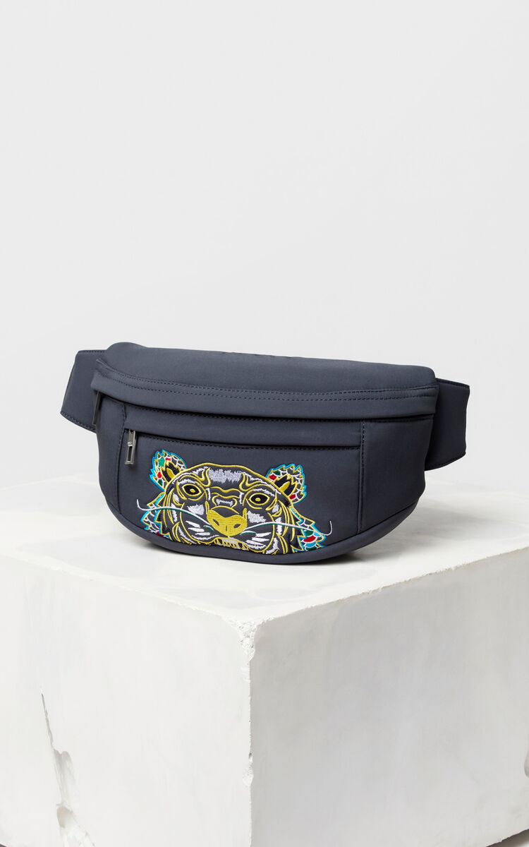 Neoprene 'Dragon Tiger' bumbag for unisex KENZO
