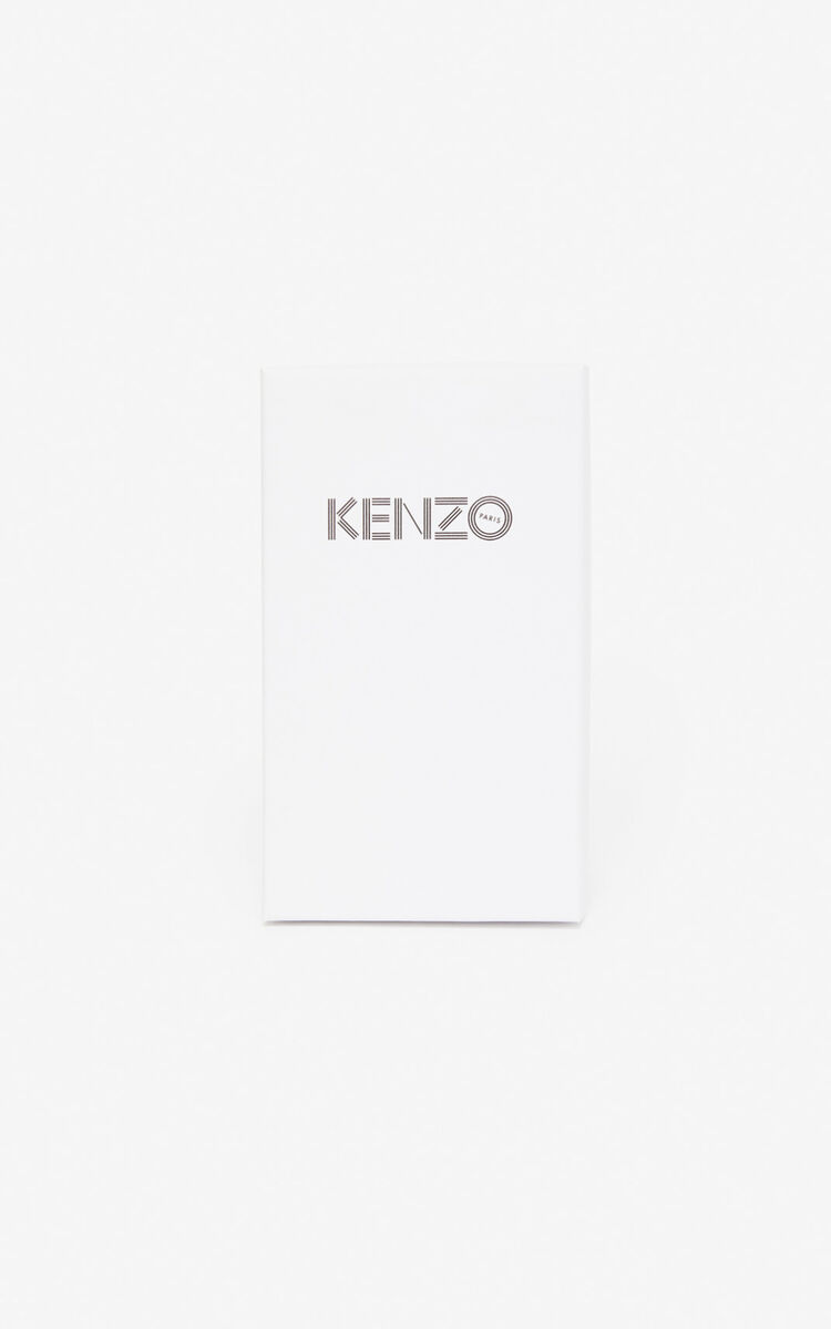 BLACK KENZO logo iPhone X/XS case for unisex