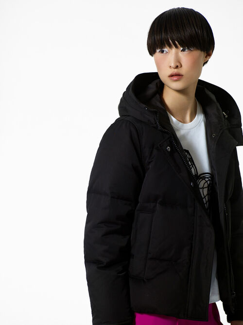 Quilted Puffa jacket, BLACK, KENZO