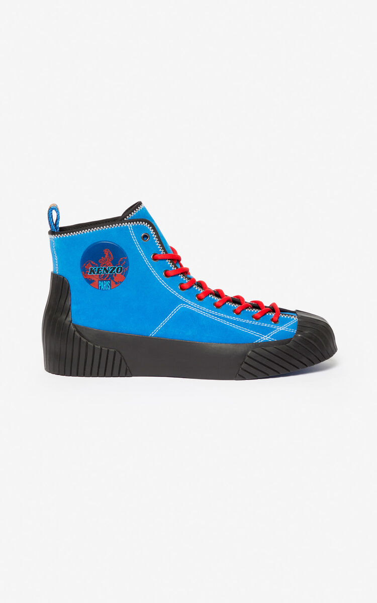 COBALT Volkano high-top trainers for unisex KENZO