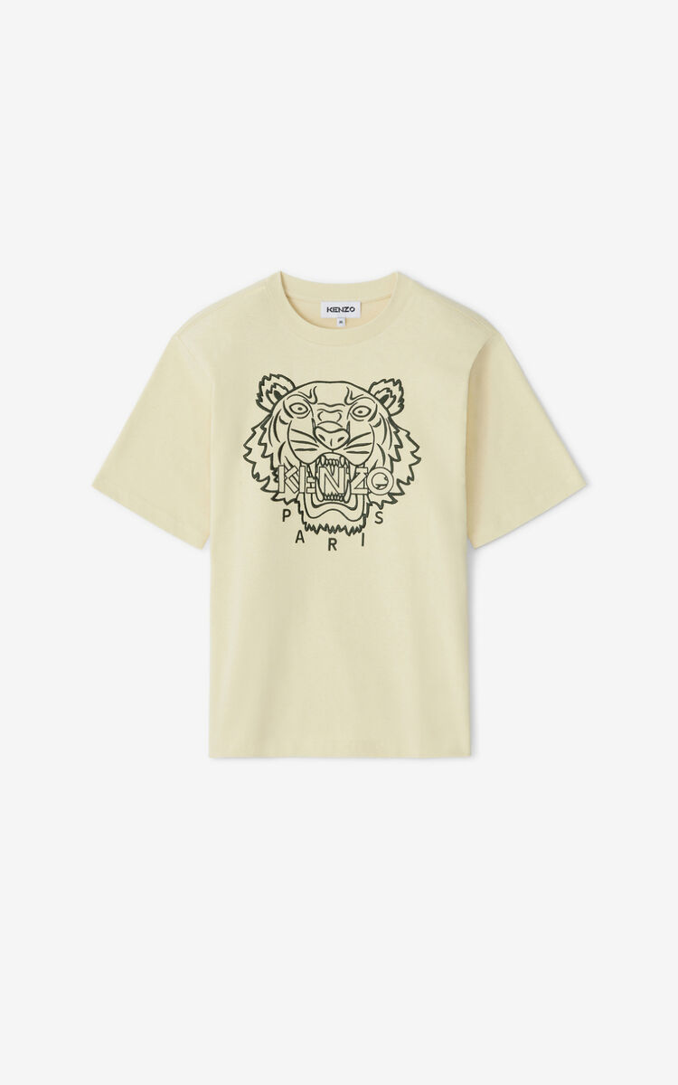 SAND  Tiger loose-fitting T-shirt for women KENZO