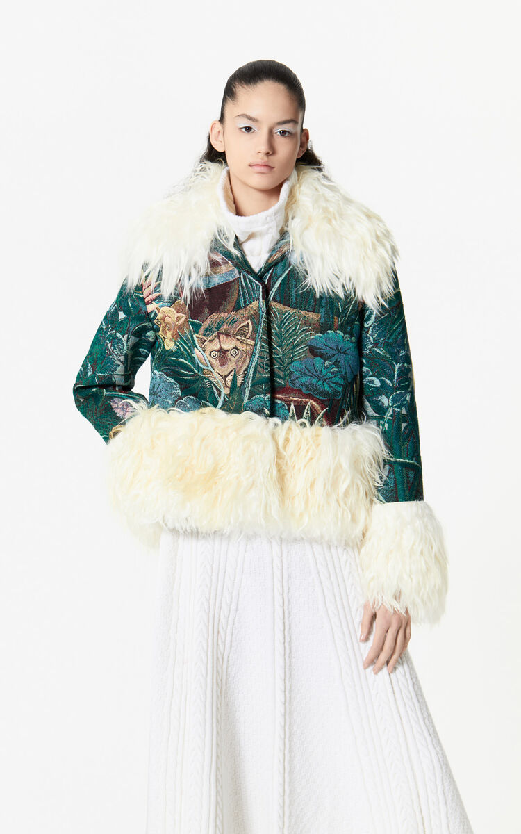PINE Heritage jacquard jacket for women KENZO