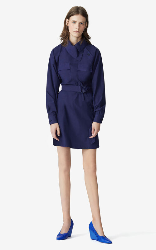 NAVY BLUE Tunic dress for women KENZO