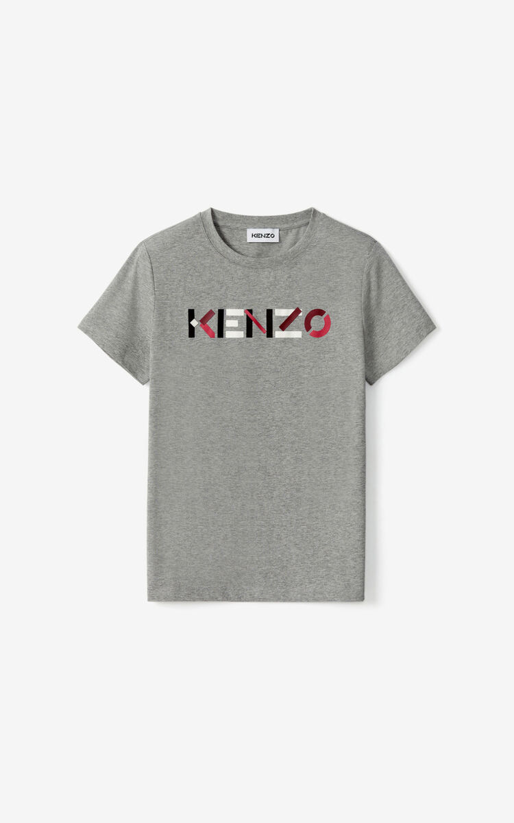 PEARL GREY KENZO Logo T-shirt for women