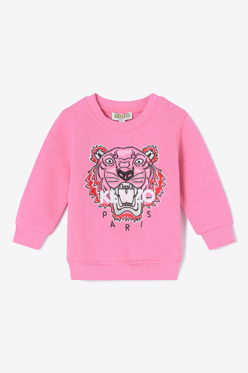 ROSE Tiger Sweatshirt for women KENZO