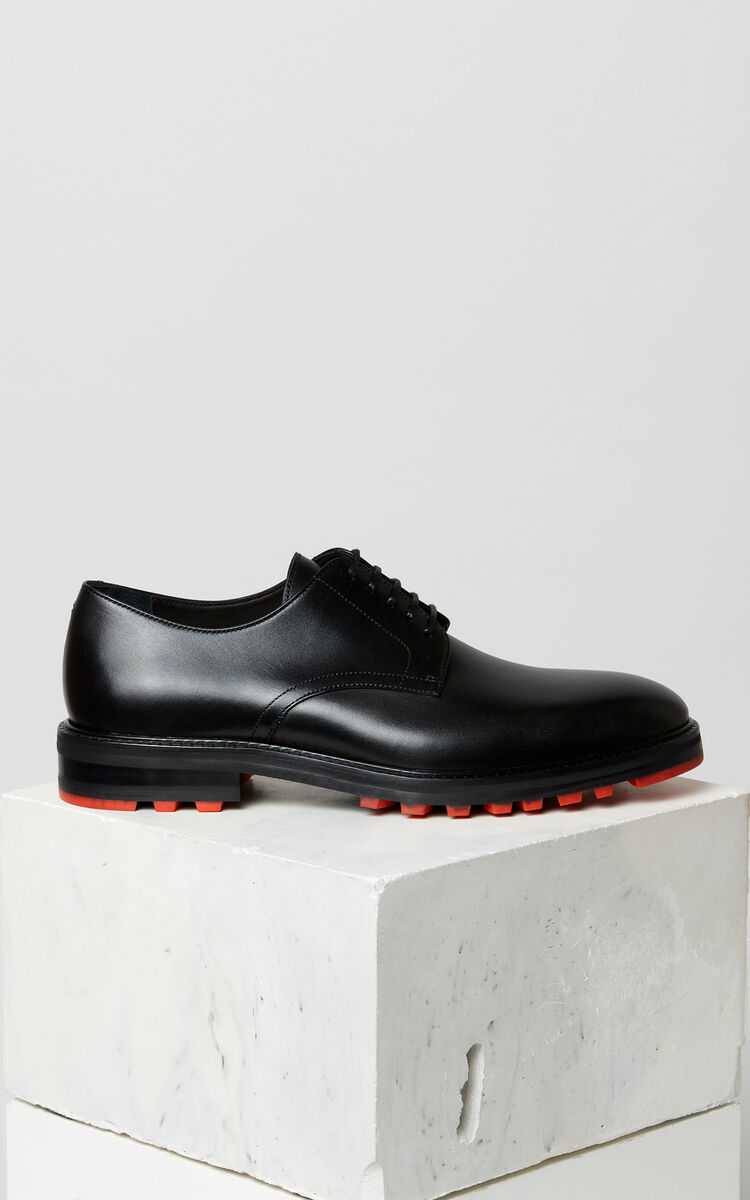 BLACK Georgia derby shoes for women KENZO