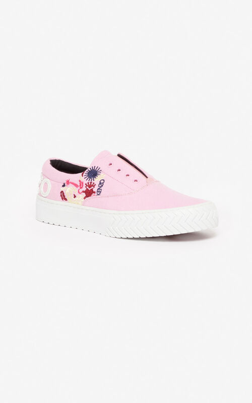 BEGONIA 'Lucky Star' K-Skate trainers for unisex KENZO
