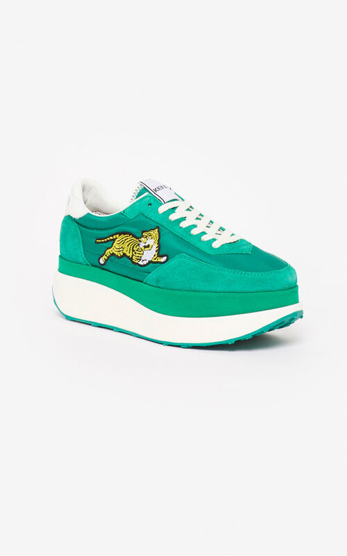 MINT KENZO MOVE platform sneakers for women
