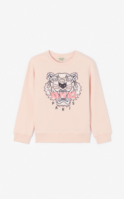 FADED PINK Tiger sweatshirt for unisex KENZO