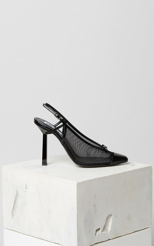 BLACK Torna heeled shoes for unisex KENZO