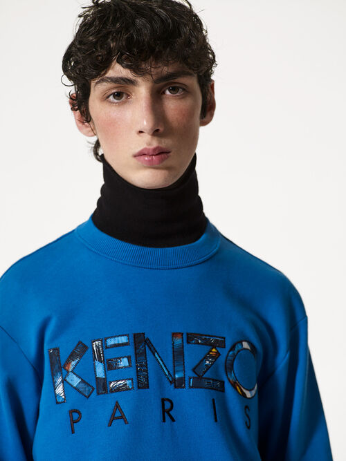DUCK BLUE KENZO x Tropical Ice Sweatshirt for women
